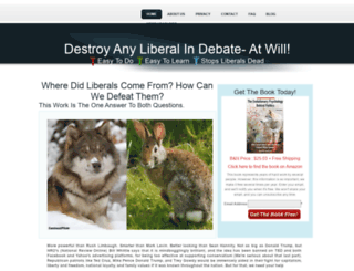 anonymousconservative.com screenshot