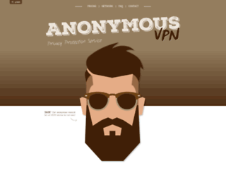 anonymousvpn.org screenshot