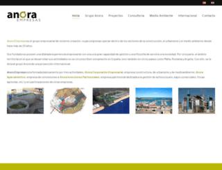 anoraempresas.com screenshot