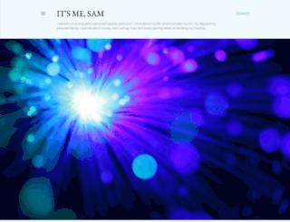 anostrichnamedsam.blogspot.com screenshot