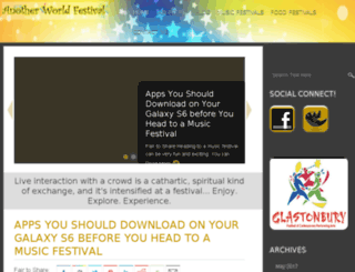 anotherworldfestival.co.uk screenshot