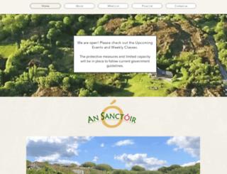 ansanctoir.ie screenshot