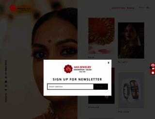 ansjewelry.com screenshot
