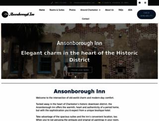 ansonboroughinn.com screenshot