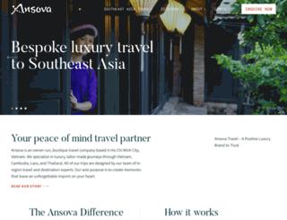 ansovatravel.com screenshot