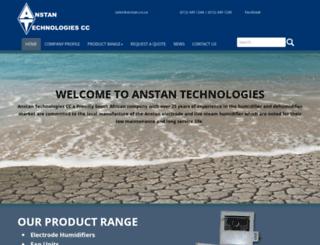 anstan.co.za screenshot