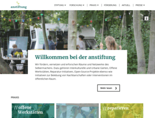 anstiftung.de screenshot