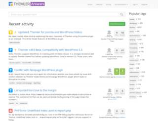 answers.themler.com screenshot