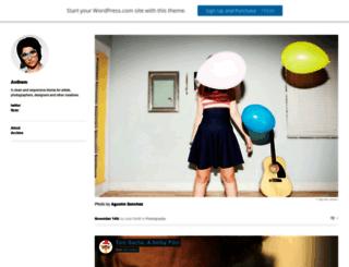 anthemdemo.wordpress.com screenshot