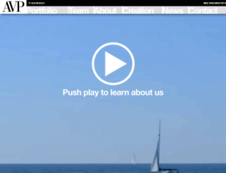 anthemvp.com screenshot