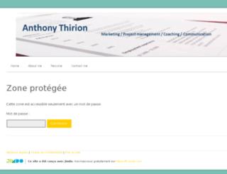 anthony-thirion.jimdo.com screenshot