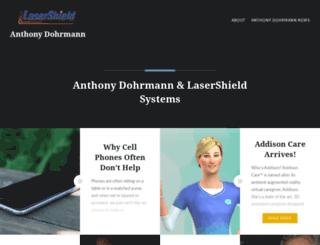 anthonydohrmannlasershield.net screenshot