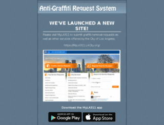 anti-graffiti.lacity.org screenshot
