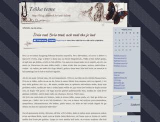 anti-talent.blog.hr screenshot
