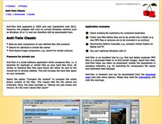 anti-twin.com screenshot