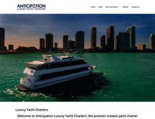 anticipation.com screenshot