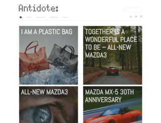 antidote.co.uk screenshot