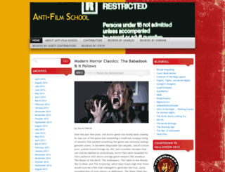 antifilmschoolsite.wordpress.com screenshot