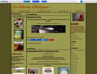 antigonehc.canalblog.com screenshot
