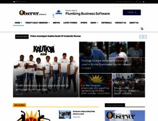 antiguaobserver.com screenshot
