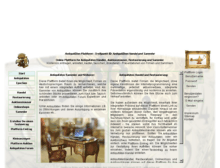 antik-online.net screenshot