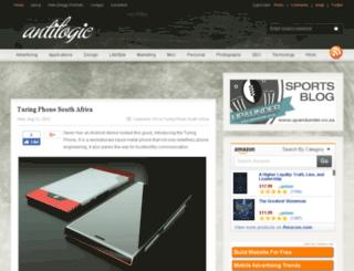 antilogic.co.za screenshot