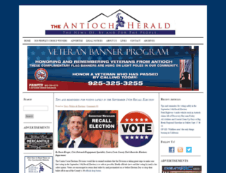 antiochherald.com screenshot