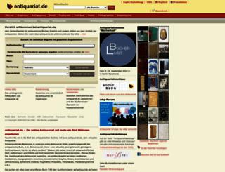 antiquariat.de screenshot