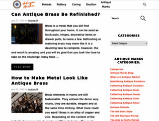 antique-marks.com screenshot