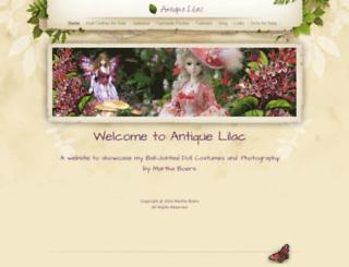 antiquelilac.com screenshot