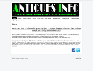antiques-info.co.uk screenshot