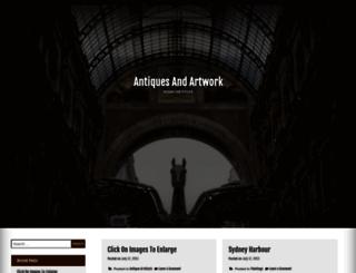 antiques.onlinebizoverview.com screenshot