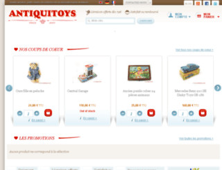 antiquitoys.fr screenshot