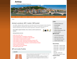 antisip.com screenshot