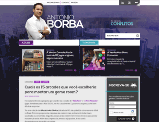 antonioborba.com screenshot