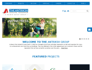 antrikshgroup.com screenshot