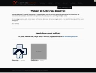 antwerpsebedrijven.com screenshot