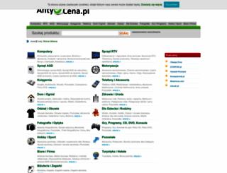 antycena.pl screenshot
