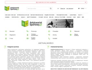 antykwariatsportowy.pl screenshot