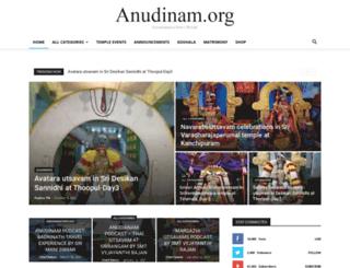 anudinam.org screenshot