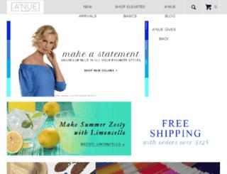 anueligne.com screenshot