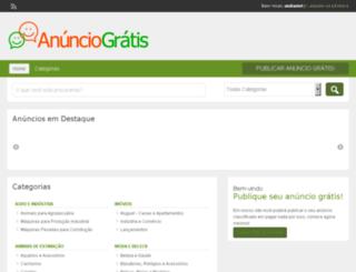 anunciogratis.com.br screenshot