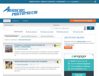 anuncios.pontuprecio.net screenshot