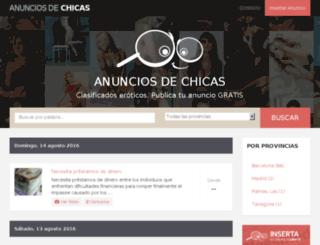 anunciosdechicas.com screenshot