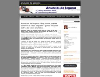 anunciosdeseguros.wordpress.com screenshot