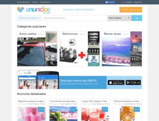 anunciosgratis.mx screenshot