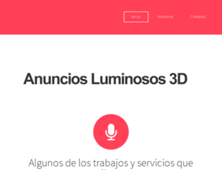anunciosluminosos3d.com.mx screenshot