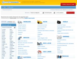 anunciosocasion.es screenshot