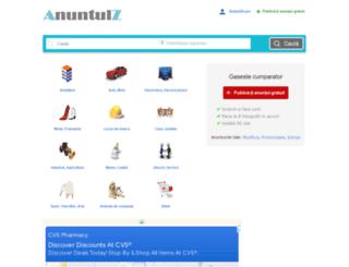 anuntulz.ro screenshot