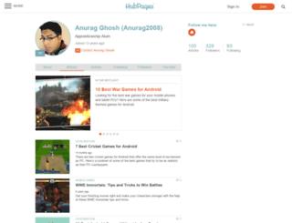 anurag2008.hubpages.com screenshot
